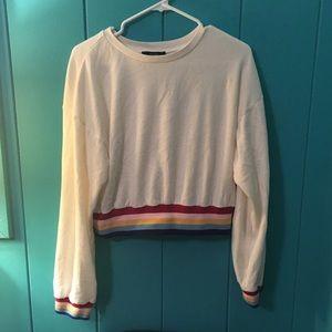 Women's Forever 21 cropped sweatshirt